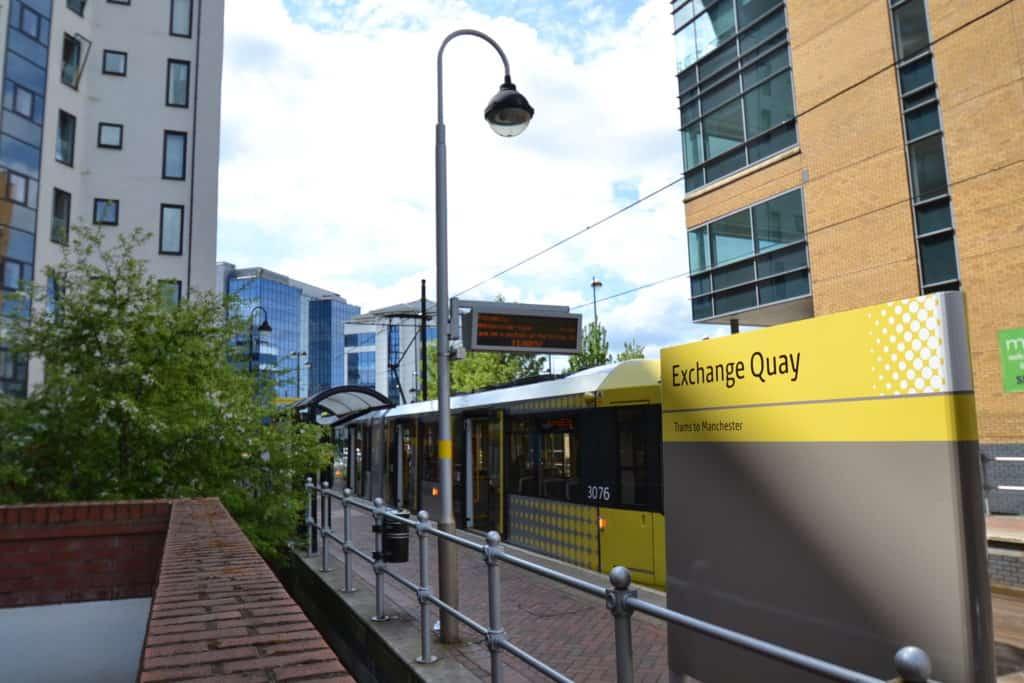 Exchange Quay tram 2